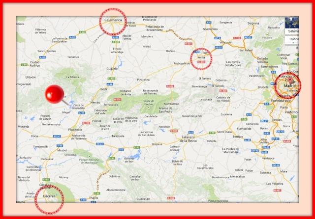 carpas arconovo grana-mapa